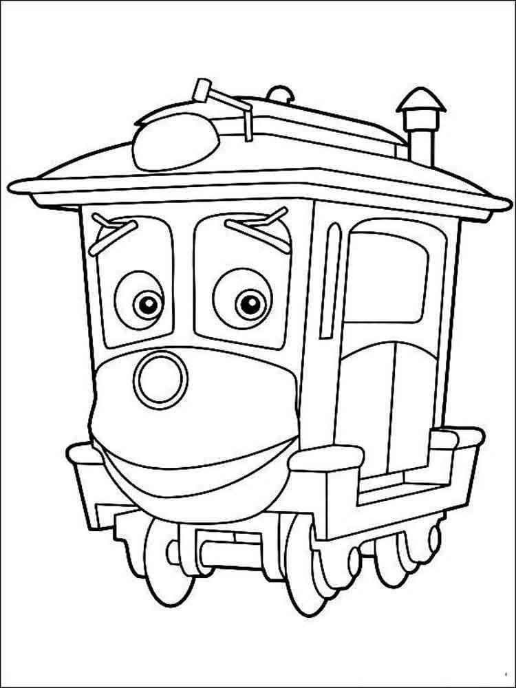 Chuggington coloring pages. Free Printable Chuggington