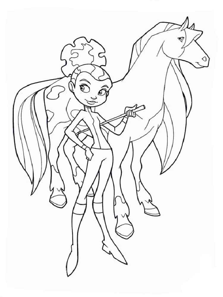 Horseland coloring pages. Free Printable Horseland