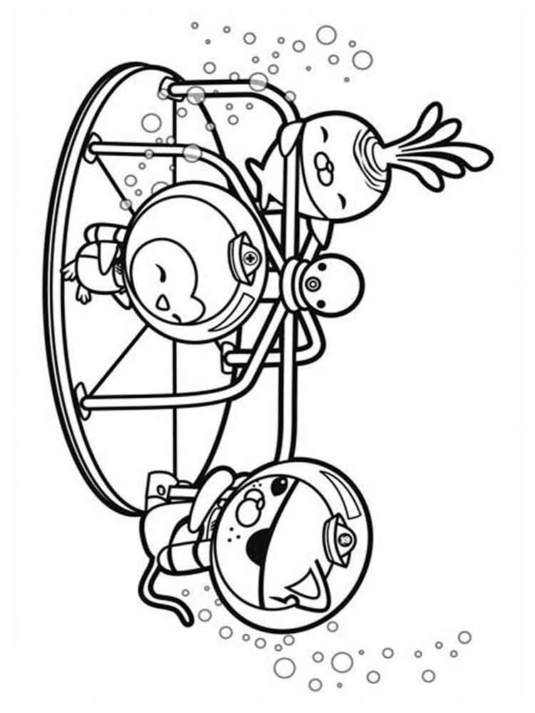 Octonauts coloring pages. Free Printable Octonauts