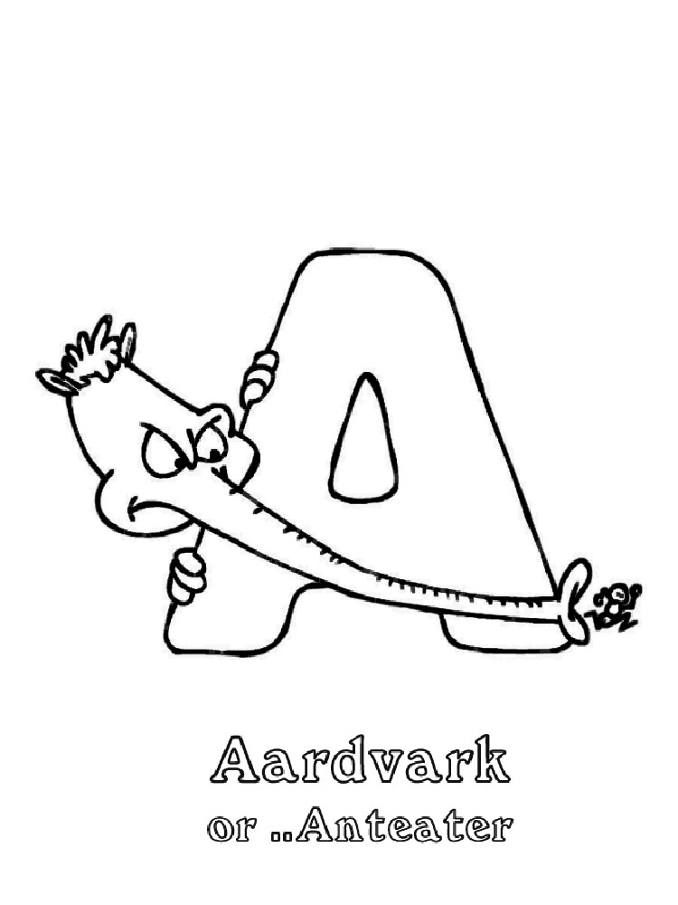 ABC Alphabet coloring pages. Download and print ABC