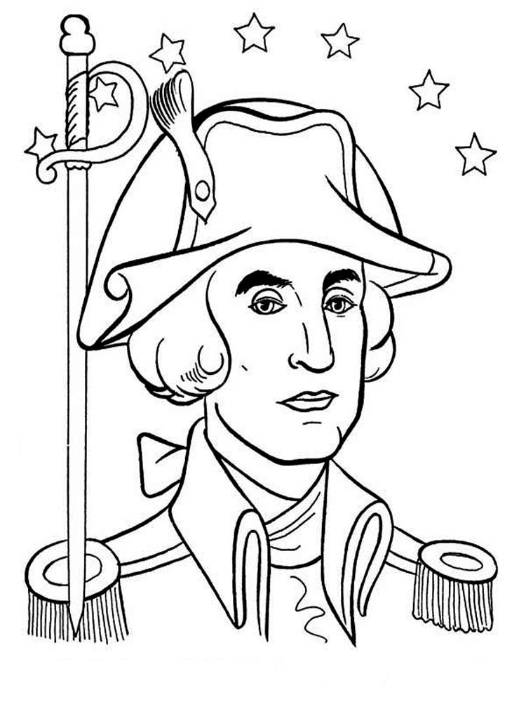 American Revolutionary War coloring pages. Download and