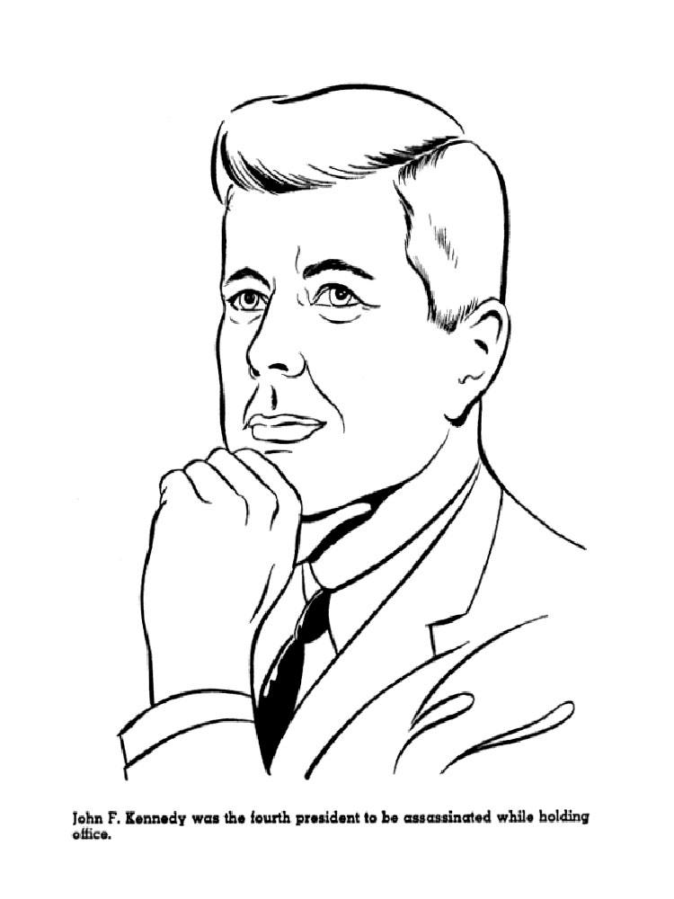 U.S. Presidents coloring pages. Download and print U.S
