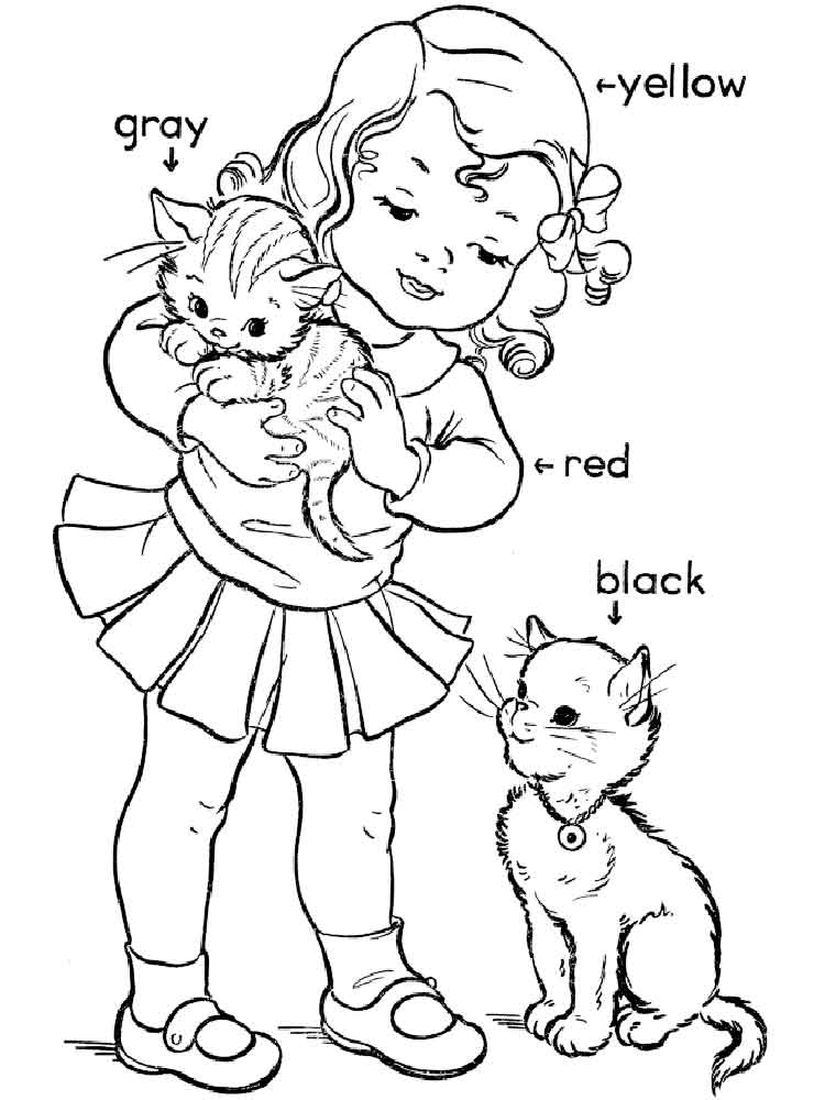 Hidden Sight Words coloring pages. Free Printable Hidden
