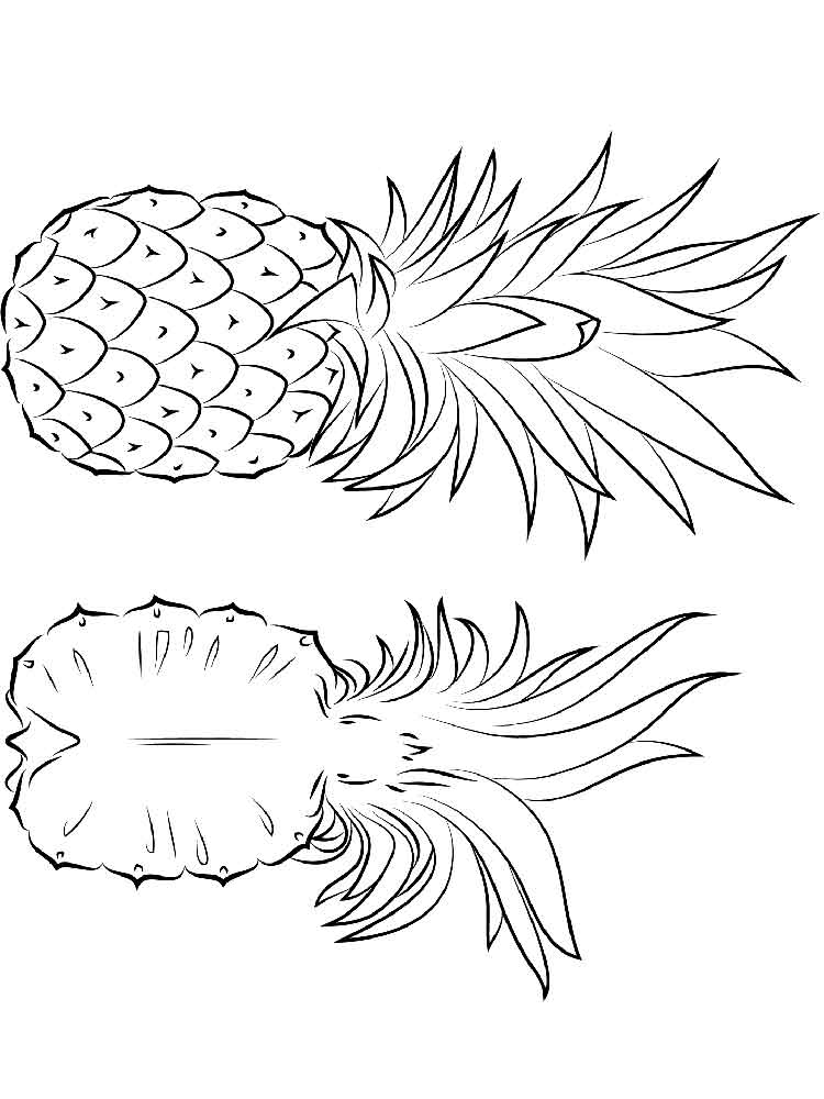 Pineapple Page Tumblr Coloring Pages