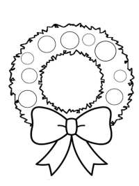 Wreath coloring pages. Free Printable Wreath coloring pages.