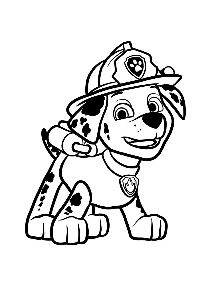 Paw Patrol Coloring Pages Marshall : patrol, coloring, pages, marshall, Marshall, Patrol, Coloring, Pages., Download, Print, Pages