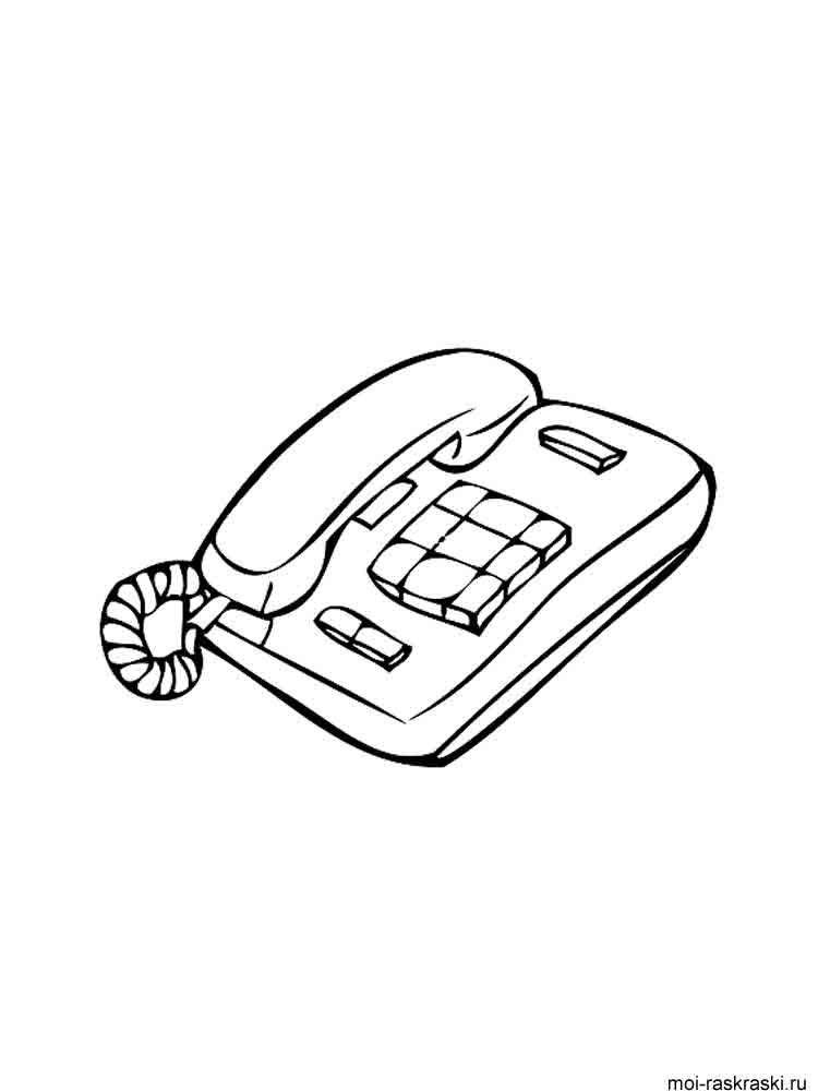 Phone coloring pages. Download and print Phone coloring pages.