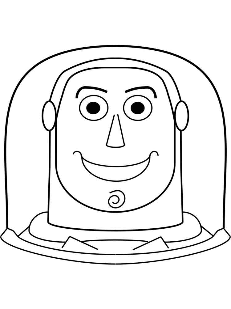 Buzz Lightyear coloring pages. Free Printable Buzz