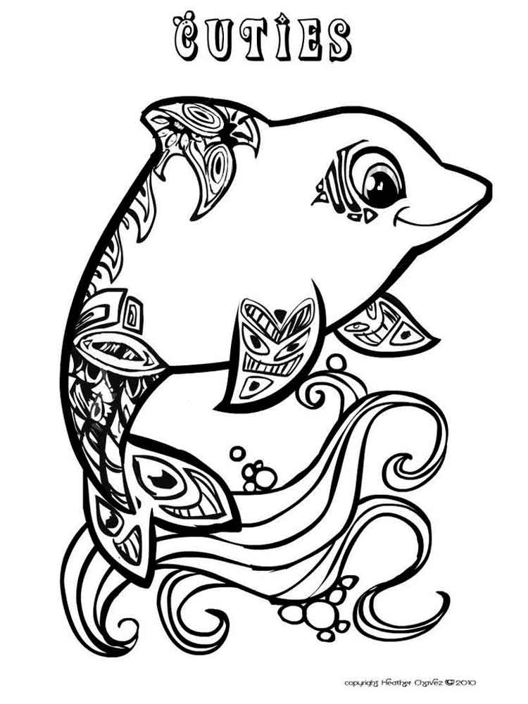 Cuties coloring pages. Free Printable Cuties coloring pages.
