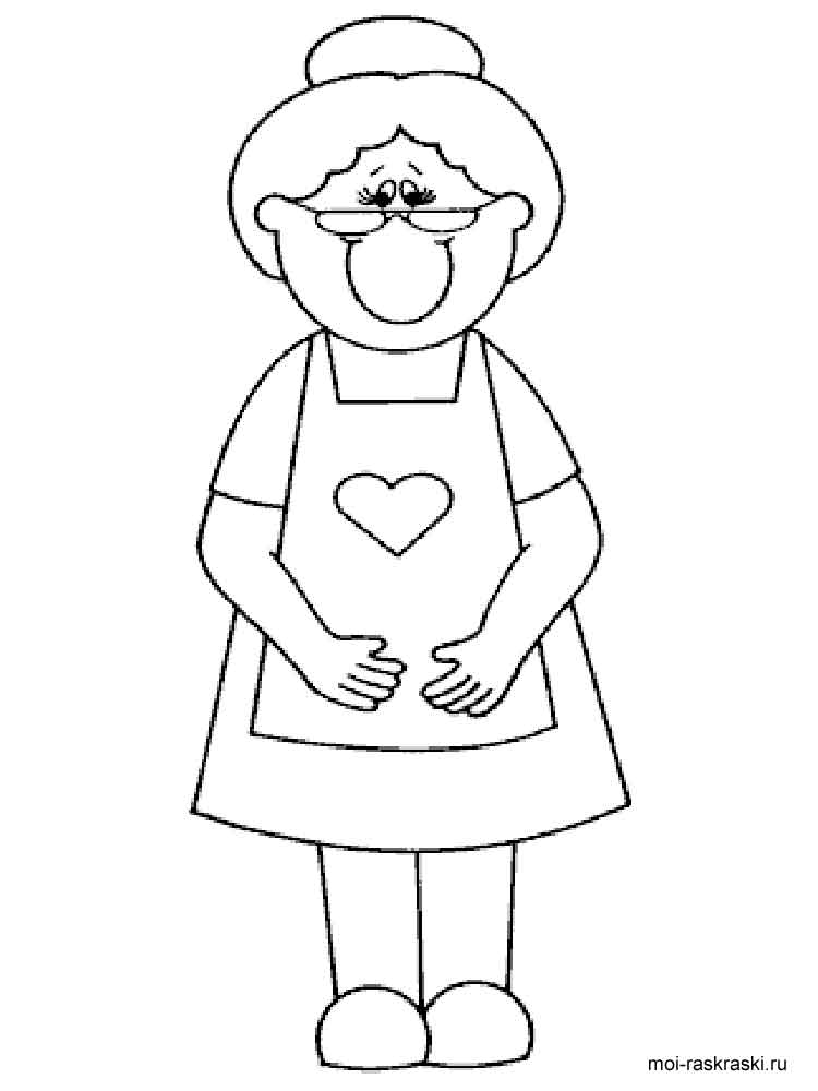 Family Grandma Coloring Pages Coloring Pages