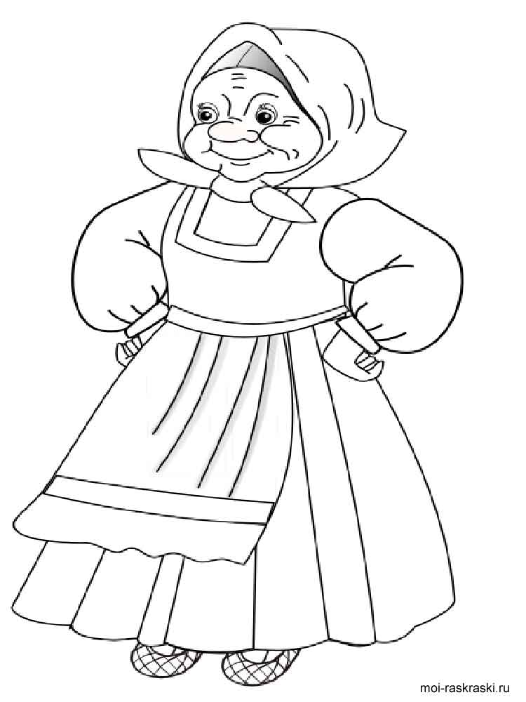 Grandma coloring pages. Free Printable Grandma coloring pages.