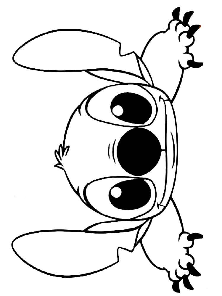 Stitch coloring pages. Free Printable Stitch coloring pages.