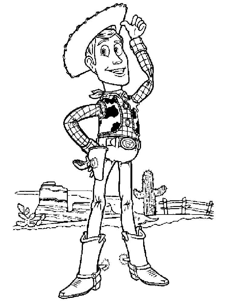 Woody coloring pages. Free Printable Woody coloring pages.