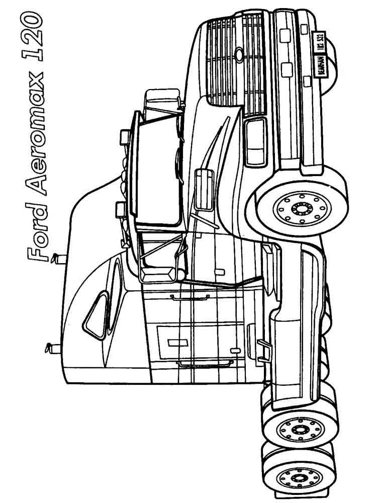 Dump Truck Coloring Pages To Download And Print For Free