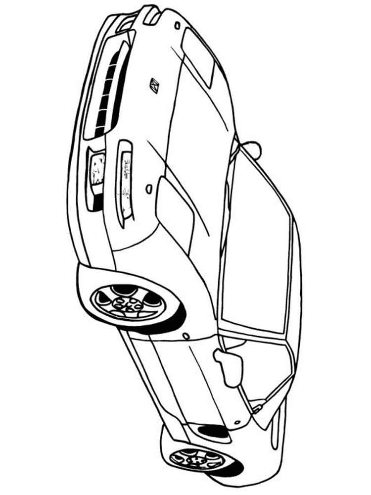 Printable Coloring Pages Honda Cb550. Printable. Best Free