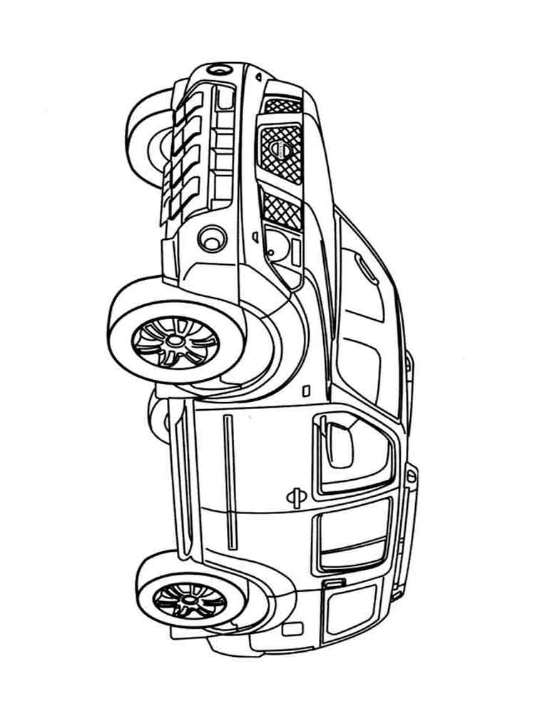 Off road vehicle coloring pages. Download and print Off