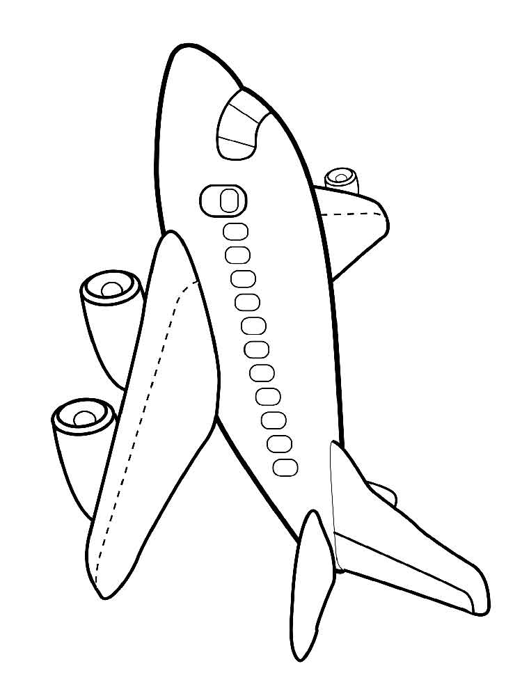 Plane coloring pages. Free Printable Plane coloring pages.