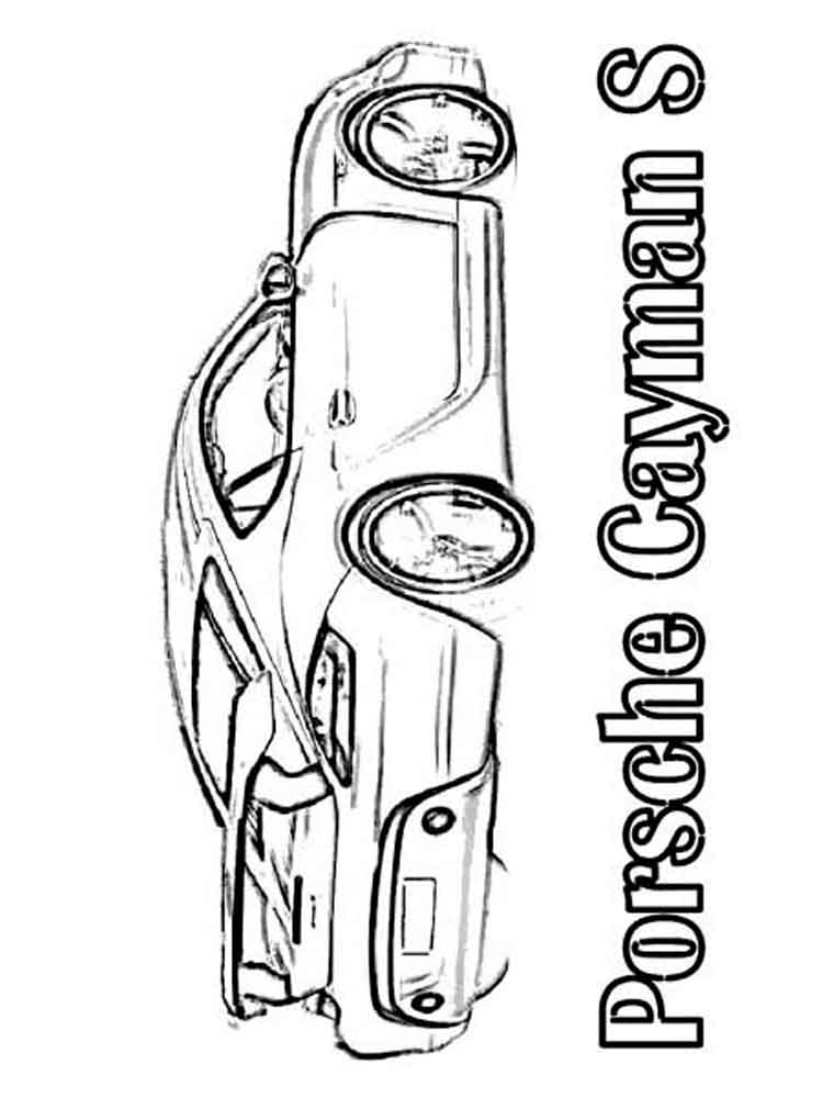 Porsche Logo Coloring Pages Sketch Coloring Page