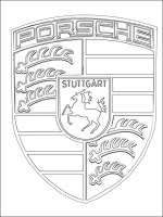 Porsche coloring pages. Free Printable Porsche coloring pages.