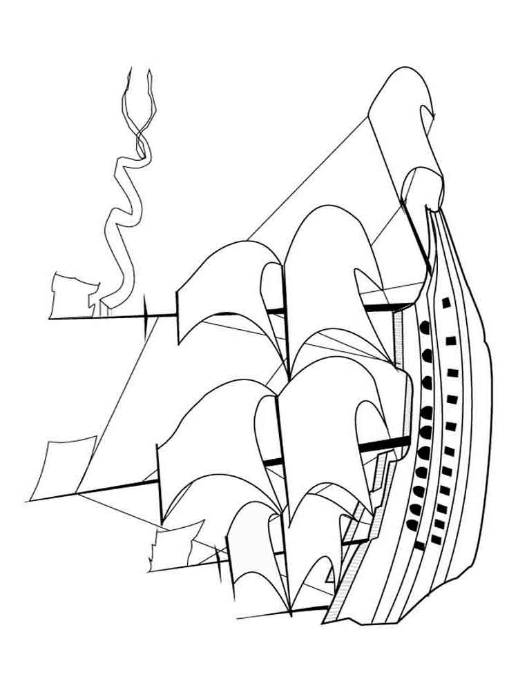 Boats and Ships coloring pages. Download and print boats