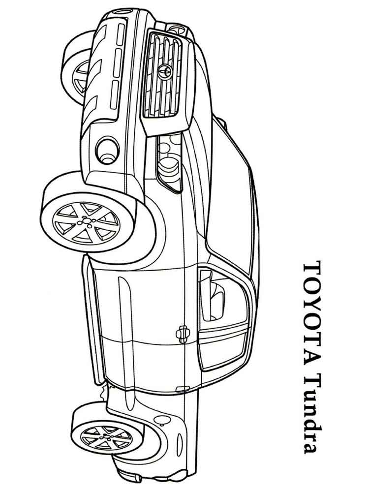 Toyota Tundra Coloring Pages Coloring Coloring Pages