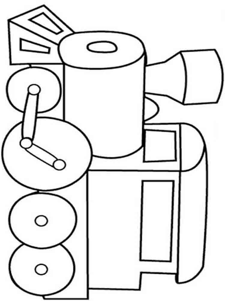 Train coloring pages. Download and print train coloring pages
