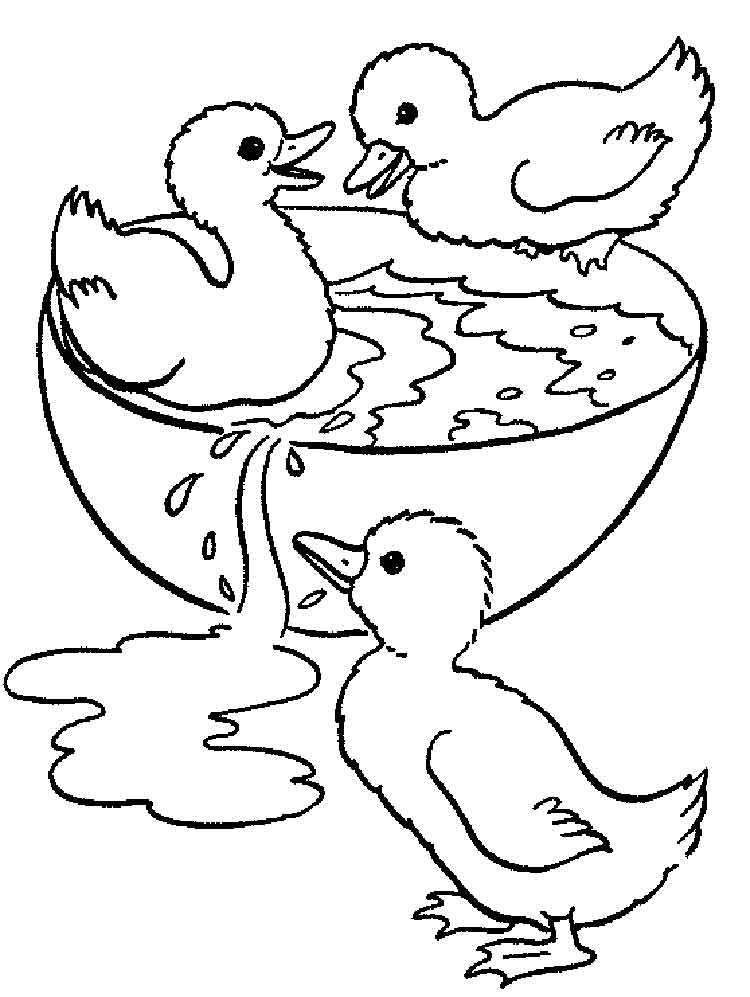 Free Coloring Pages Of Stork And Baby