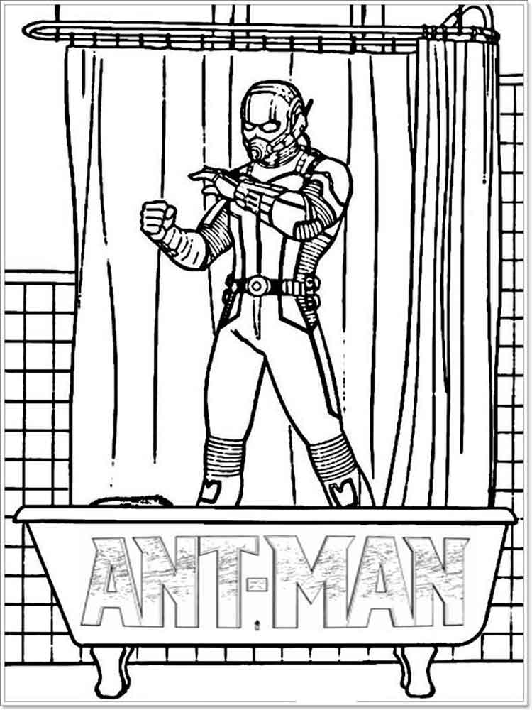 ant man coloring pages. free printable ant man coloring pages.