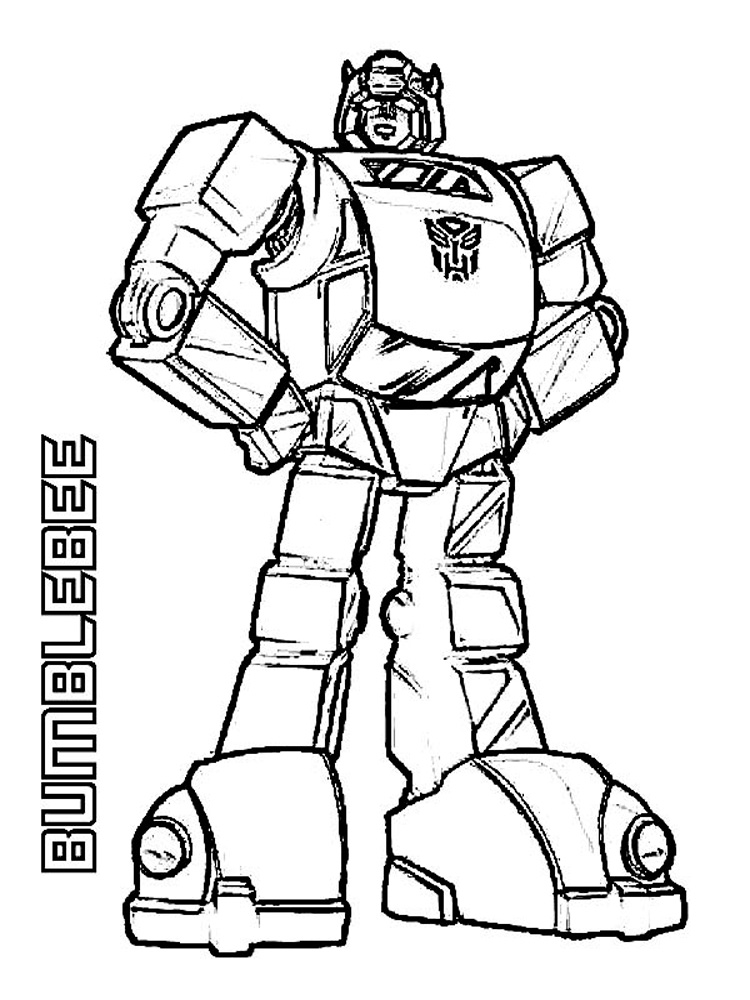 Bumblebee coloring pages. Free Printable Bumblebee