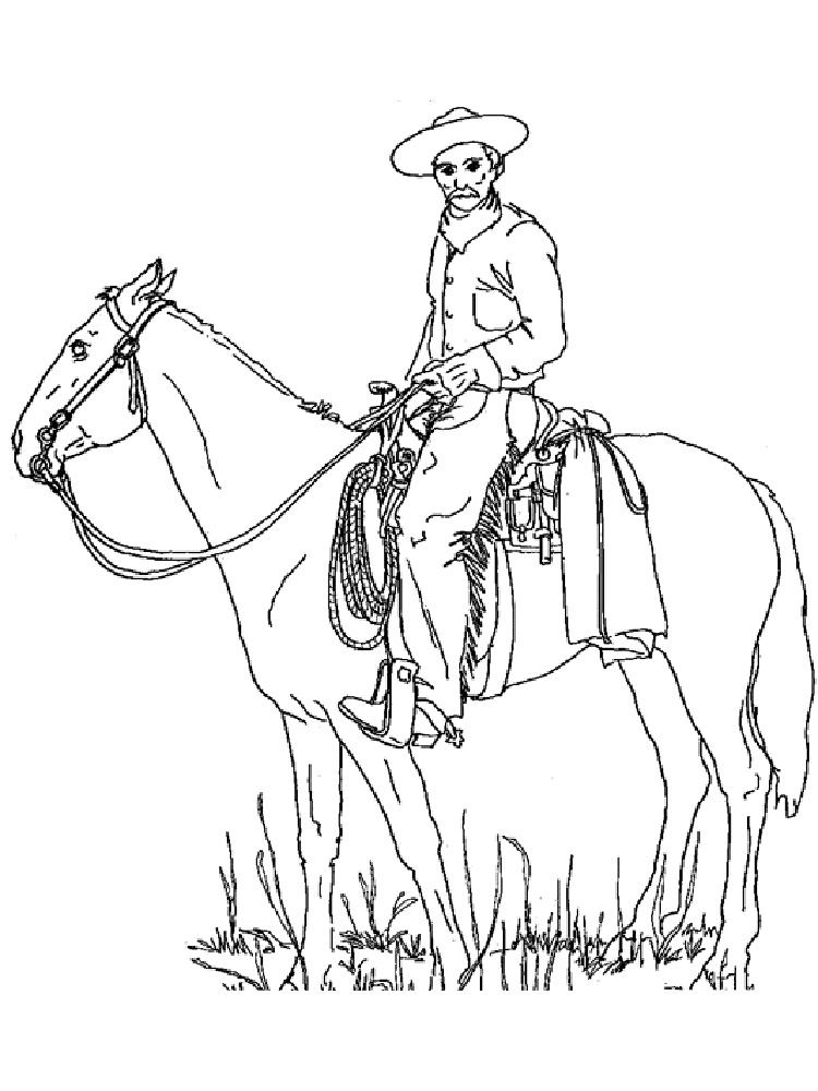Town Coloring Pages Western Coloring Pages Wild West