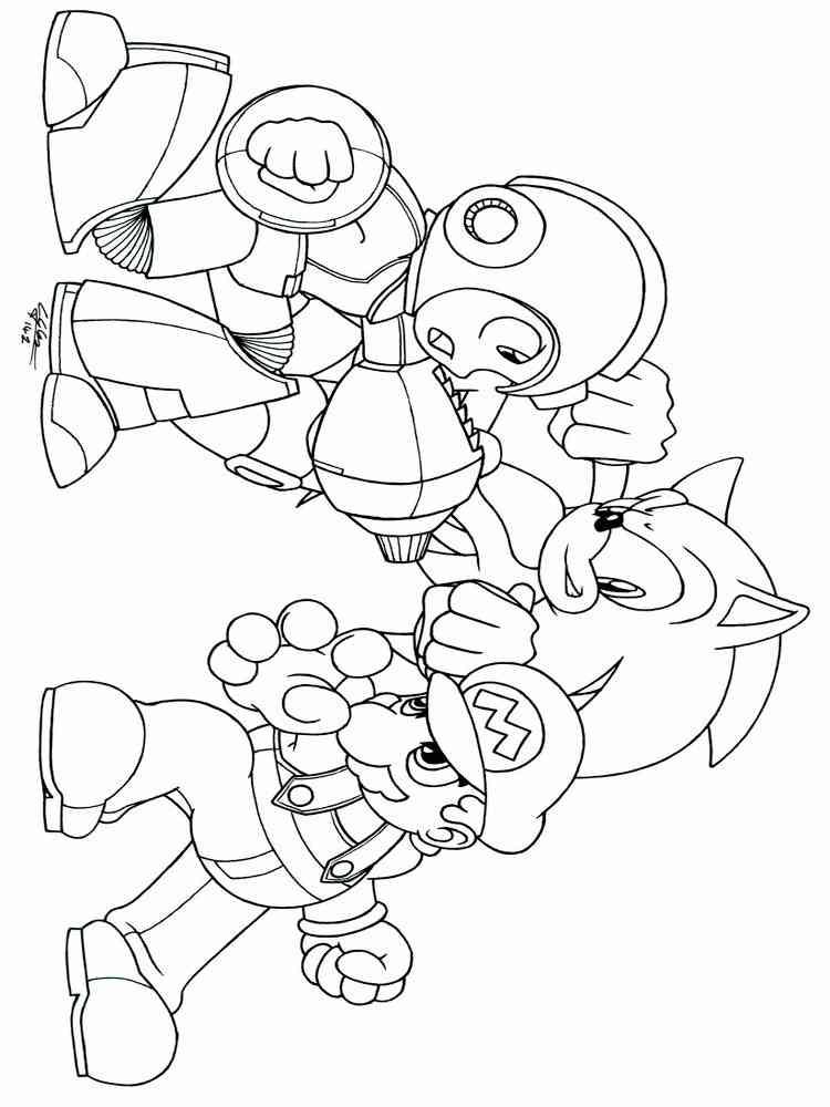 Mega Man coloring pages. Free Printable Mega Man coloring