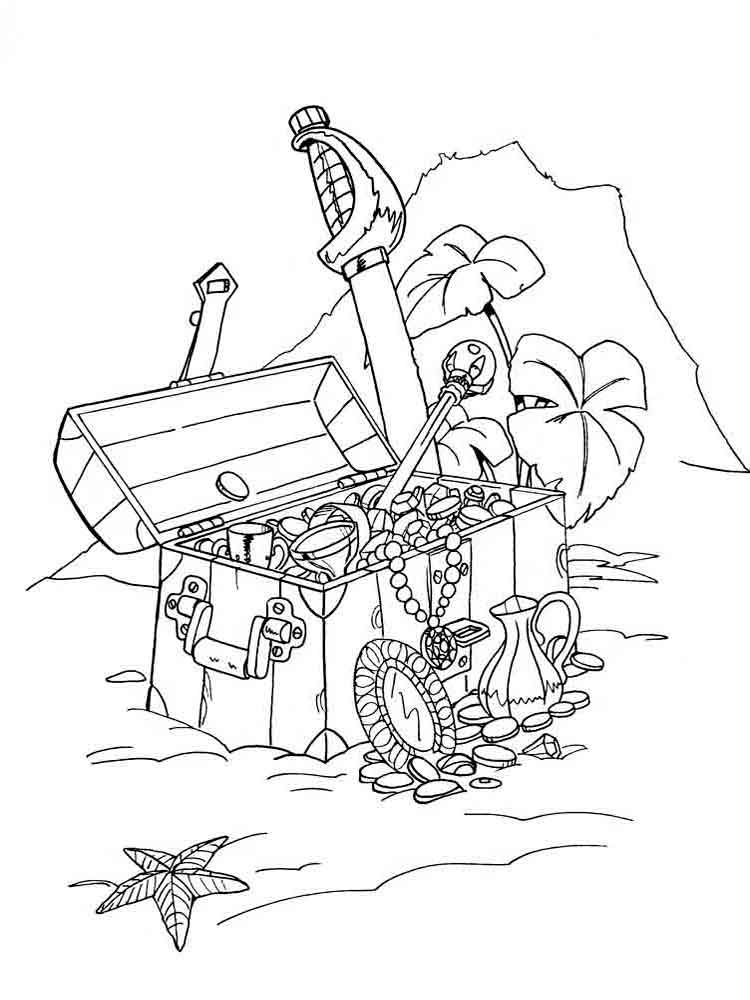 Pirates coloring pages. Download and print pirates