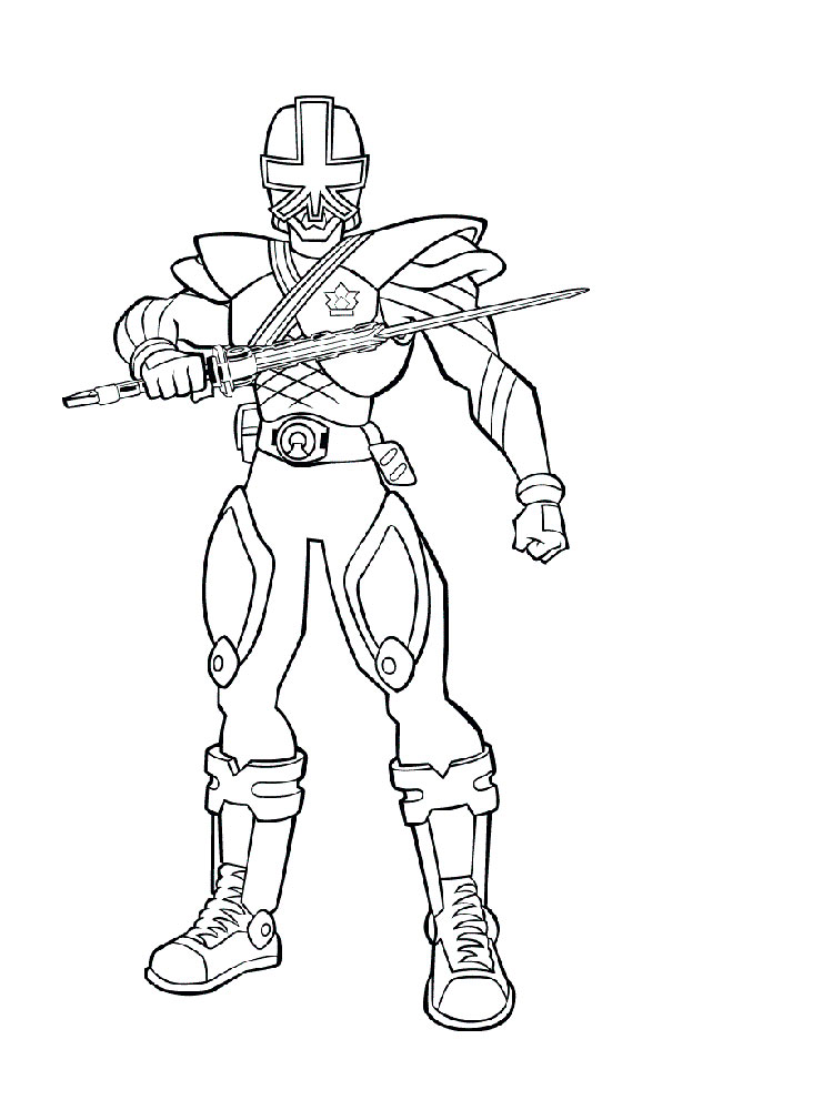 Power Rangers Samurai coloring pages. Free Printable Power