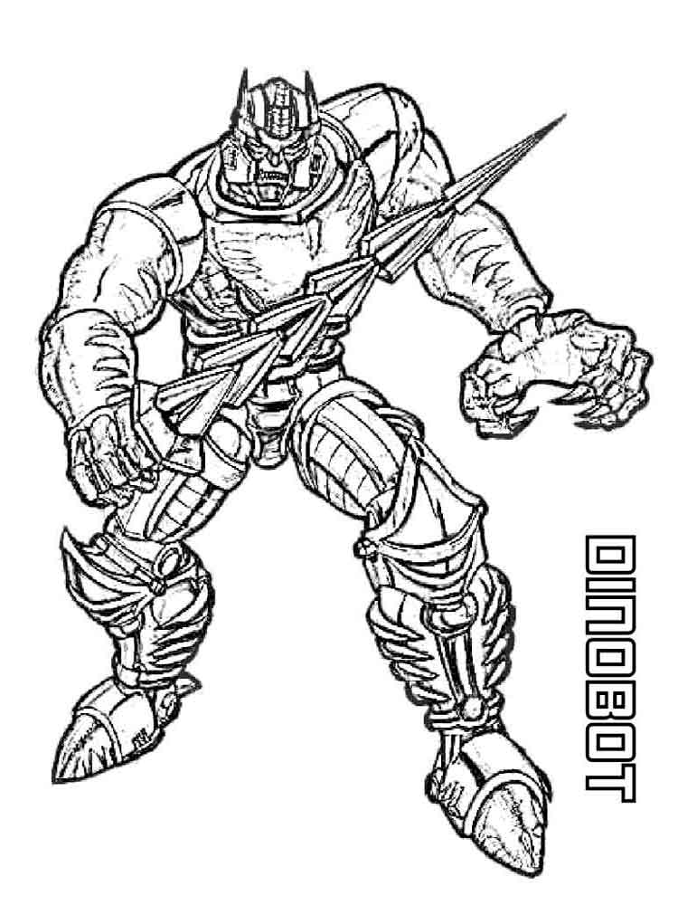 Transformers coloring pages. Download and print