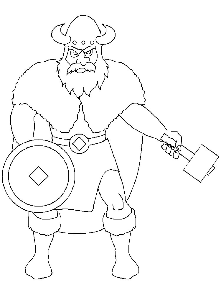 Viking coloring pages. Free Printable Viking coloring pages.