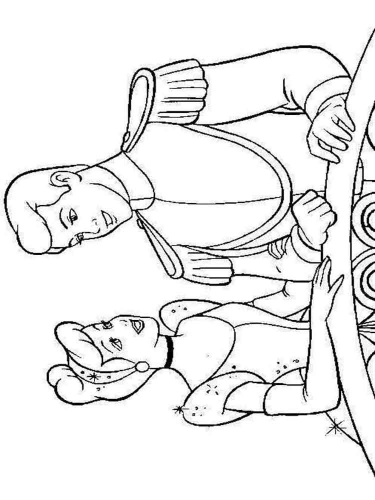 Cinderellas Stepmother Coloring Pages Coloring Pages