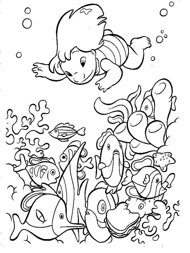 Finding Nemo Coloring Pages Download And Print Finding