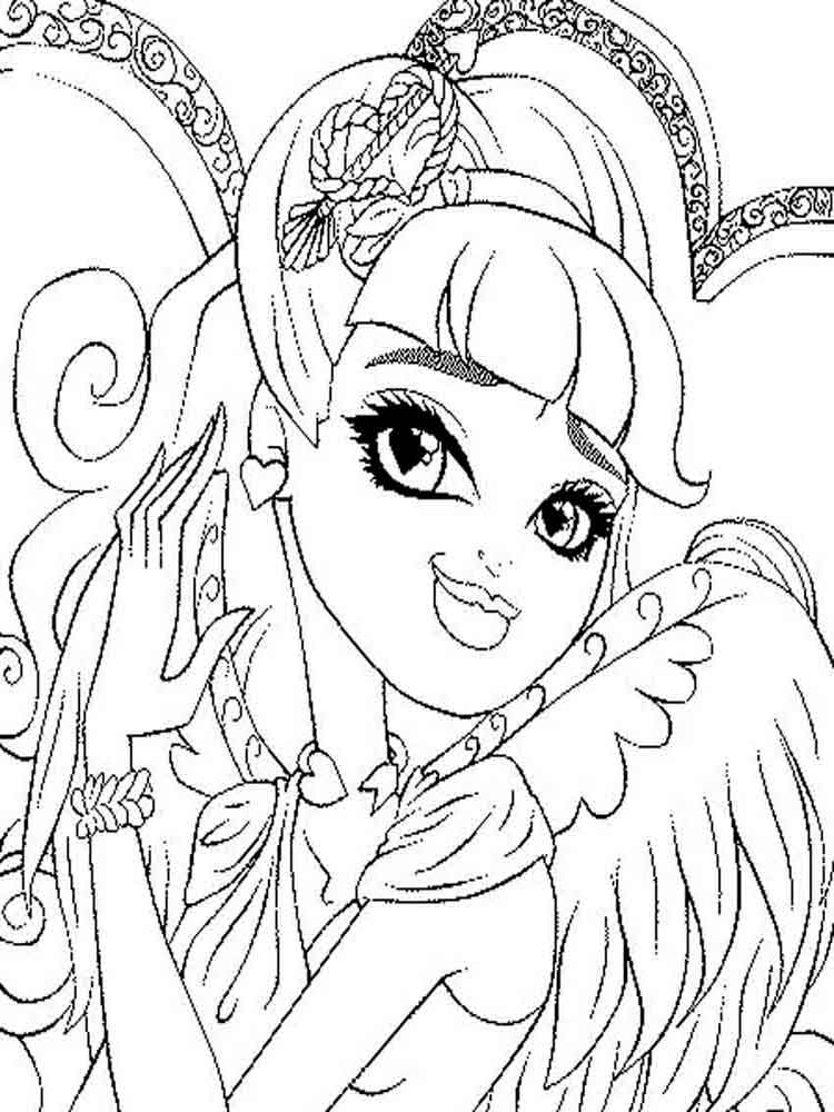 The Snow Queen Tale Coloring Pages