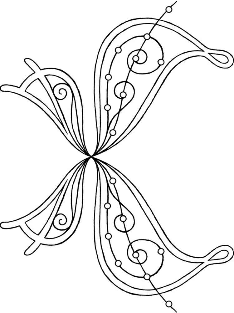 Wings Of Printables Coloring Pages