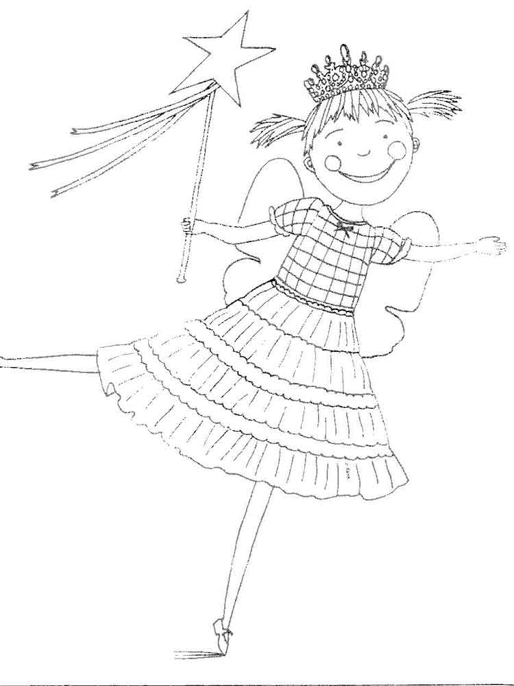 Pinkalicious Coloring Pages Coloring Pages Coloring Page