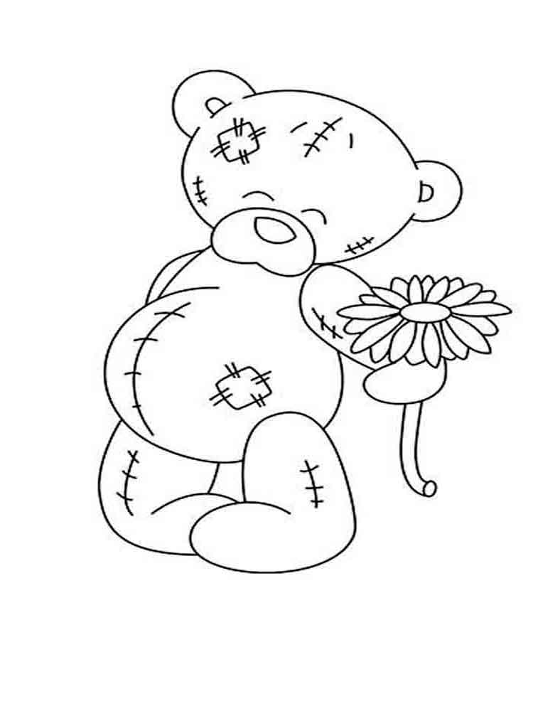 Teddy bears coloring pages. Download and print Teddy bears