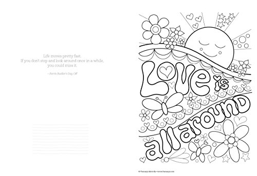 Don't Worry, Be Happy Coloring Book Treasury: Color Your
