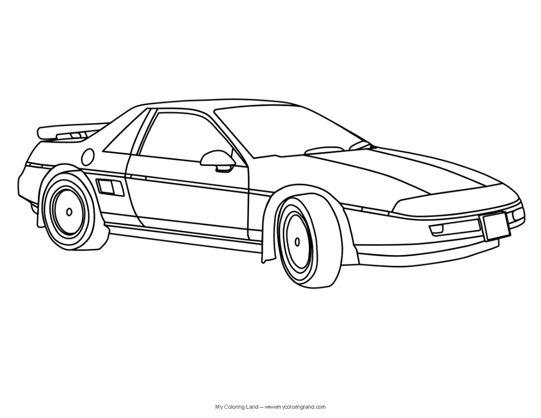 Sports Cars Coloring Pages Free Large Images Cars Coloring Pages