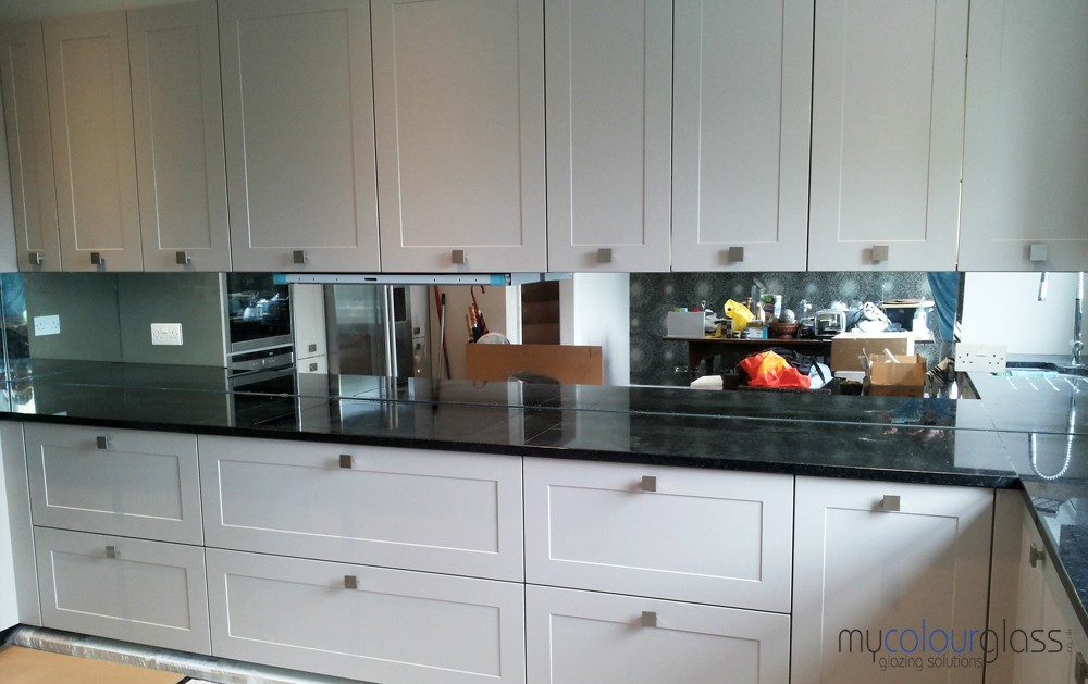 kitchen mirrors art ideas 6mm tinted with polished edges mycolourglass mirror