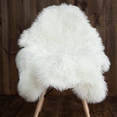 Fur Chair Cover Outdoor Swing Covers Sheepskin Faux Rug Seat Pad Area Rugs