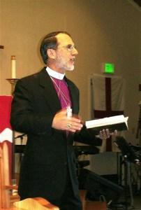 Bishop David Simpson Preaching