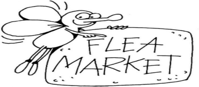 Flea Market 5/3 at 7 am