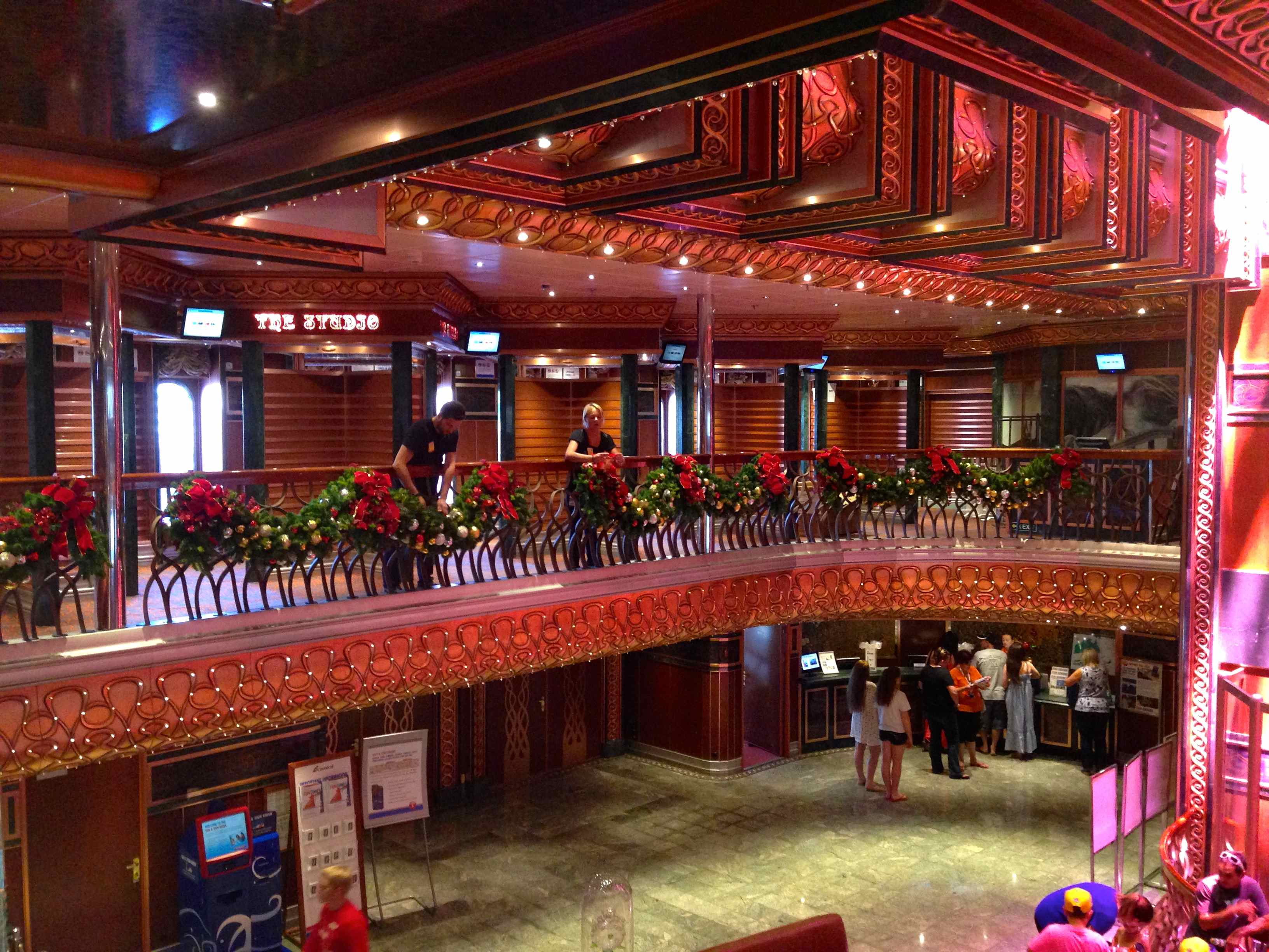 Ship Ahoy  Carnival Cruise ships Christmas decorations  MY CONCIERGE