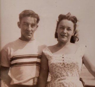 Honor your parents mom and date in1955 on their honeymoon