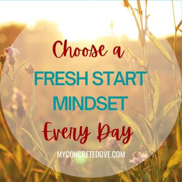 fresh start mindset